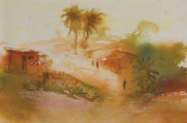 Village au Zaïre