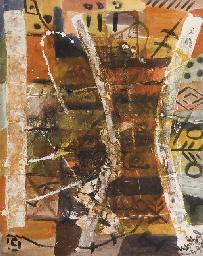 Composition aux motifs africai