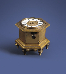 A German small engraved gilt-b