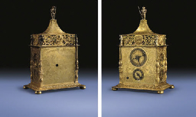 A Central European small gilt-