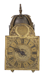 A George III small brass timep