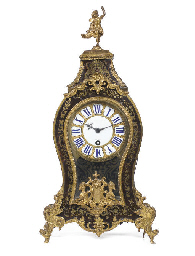 A Louis XV small boulle tortoi