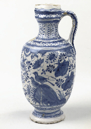 An early Dutch Delft blue and