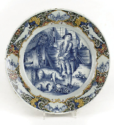 A Dutch Delft mixed-technique