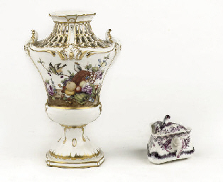 A Loosdrecht pierced pot-pourr