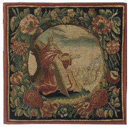 A DUTCH BIBLICAL TAPESTRY PANE