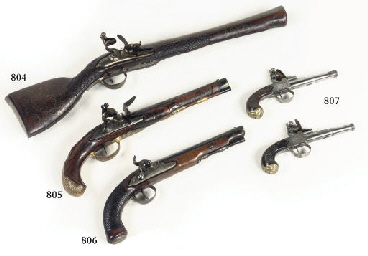 A BAVARIAN PERCUSSION PISTOL
