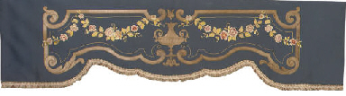 A PAIR OF FRENCH SILK-STITCH A