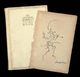The Arthur Rackham Fairy Book.