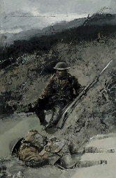 A moment of quiet on the Somme