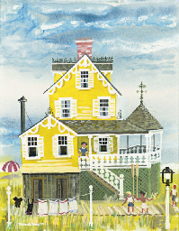 Victorian seaside cottage
