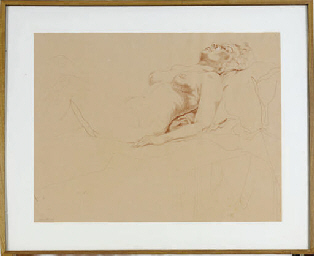 Untitled (Female Model Supine)