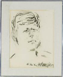 Portrait of John F. Kennedy