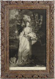 [Portrait of Mary Isabella, Du