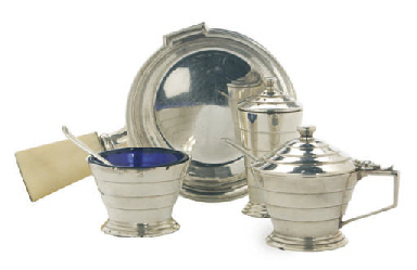 AN ASSEMBLED GROUP OF SILVER,