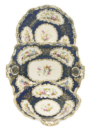 AN ENGLISH PORCELAIN COBALT-GR