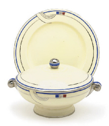 AN ENGLISH PORCELAIN DINNER SE