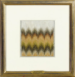 FOUR FRAMED TEXTILES,