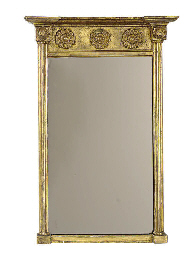 A REGENCY GILTWOOD SMALL PIER