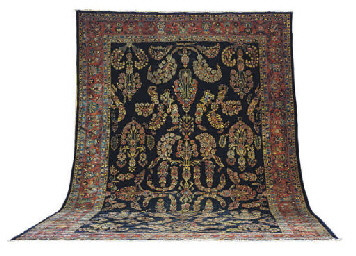 A SAROUK CARPET,