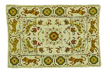 THREE PORTUGUESE NEEDLEWORK RU
