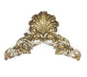 A GILTWOOD ARCHITECTURAL ELEME