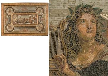 PLATEAU EN MICROMOSAIQUE DU XI