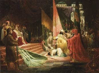 Soumission à Charlemagne