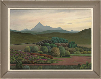Tenerife landscape; View of Te