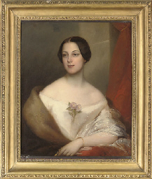 Portrait of a young lady of th