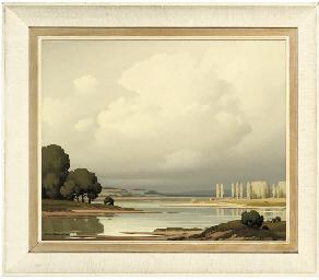 Les peupliers, Loire