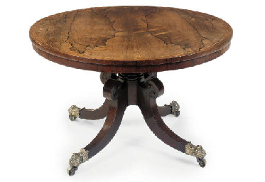 A REGENCY ROSEWOOD LOW CENTRE