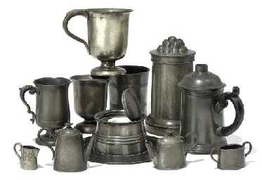 MISCELLANEOUS ENGLISH PEWTER