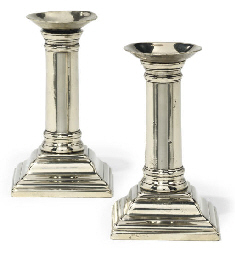 A SMALL PAIR OF GEORGE III PAK