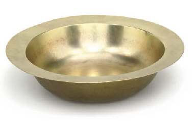 A CHINESE NICKEL ALLOY BOWL