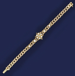 A late Victorian gold, diamond