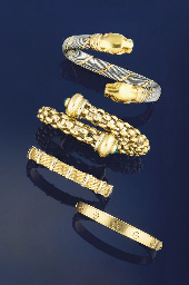 A GROUP OF FOUR BANGLES