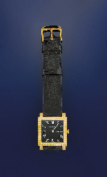 AN 18CT. GOLD WRISTWATCH, BY G