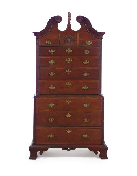 THE NEWCOMB FAMILY CHIPPENDALE