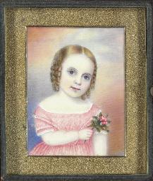 A Miniature Portrait of a Youn