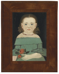 Portrait of a Girl in a Green