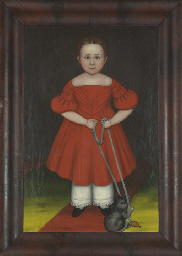 Portrait of a Girl in a Red Dr