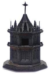A GOTHIC REVIVAL CAST-IRON OCT