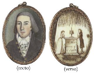 A Miniature Portrait of A Gent