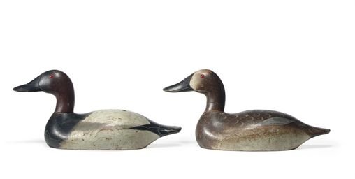 A PAIR OF CANVASBACKS