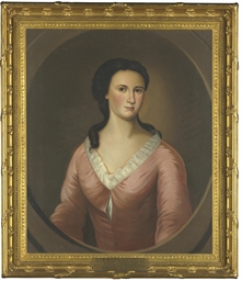 Portrait of a lady, possibly P