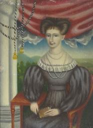 Portrait of Miss Elizabeth New