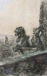 The gargoyles of Notre Dame Ca