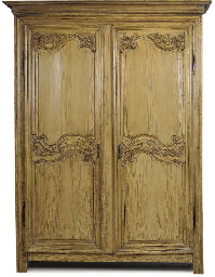 A FRENCH PROVINCIAL PINE ARMOI