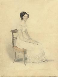 Portrait of Jean Gordon, seate